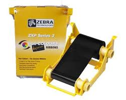 Zebra Monochrome Black Ribbon ZXP3 (1000 prints)