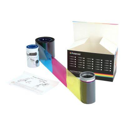 Polaroid Color Ribbon Kit for P800, YMCKT-K-375 Prints (5-5007-2)