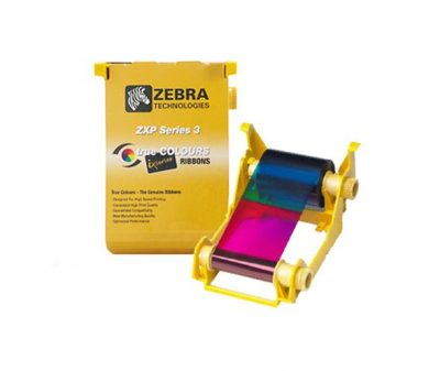 Zebra ZXP3 YMCKOK Colour Ribbon (165 prints)