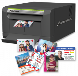 Sinfonia CS2-C Photo Card and Hashtag Printer