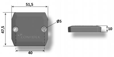 Confidex Ironside™ RFID Tag