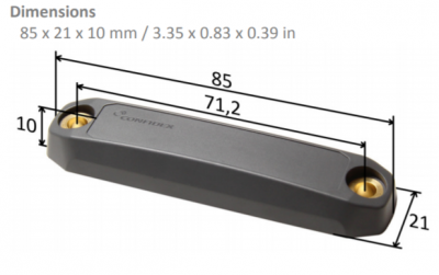 Confidex Ironside Slim™ RFID Tag