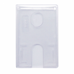 Clear card holder (100 pcs)
