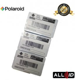 Polaroid 30mil Premier PVC Blank White Cards (100pcs/pack)