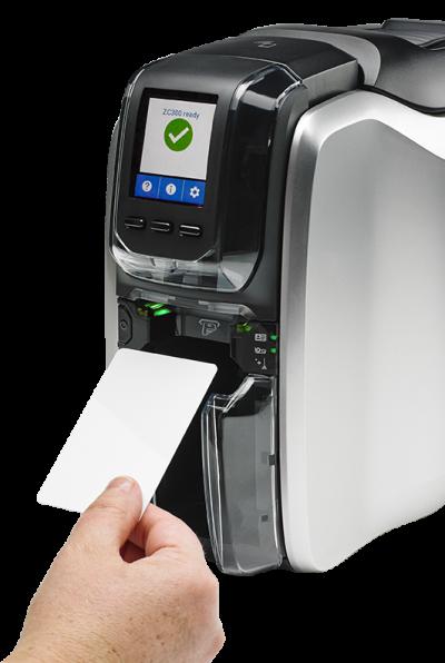 Zebra ZC300 Single Sided Card Printer