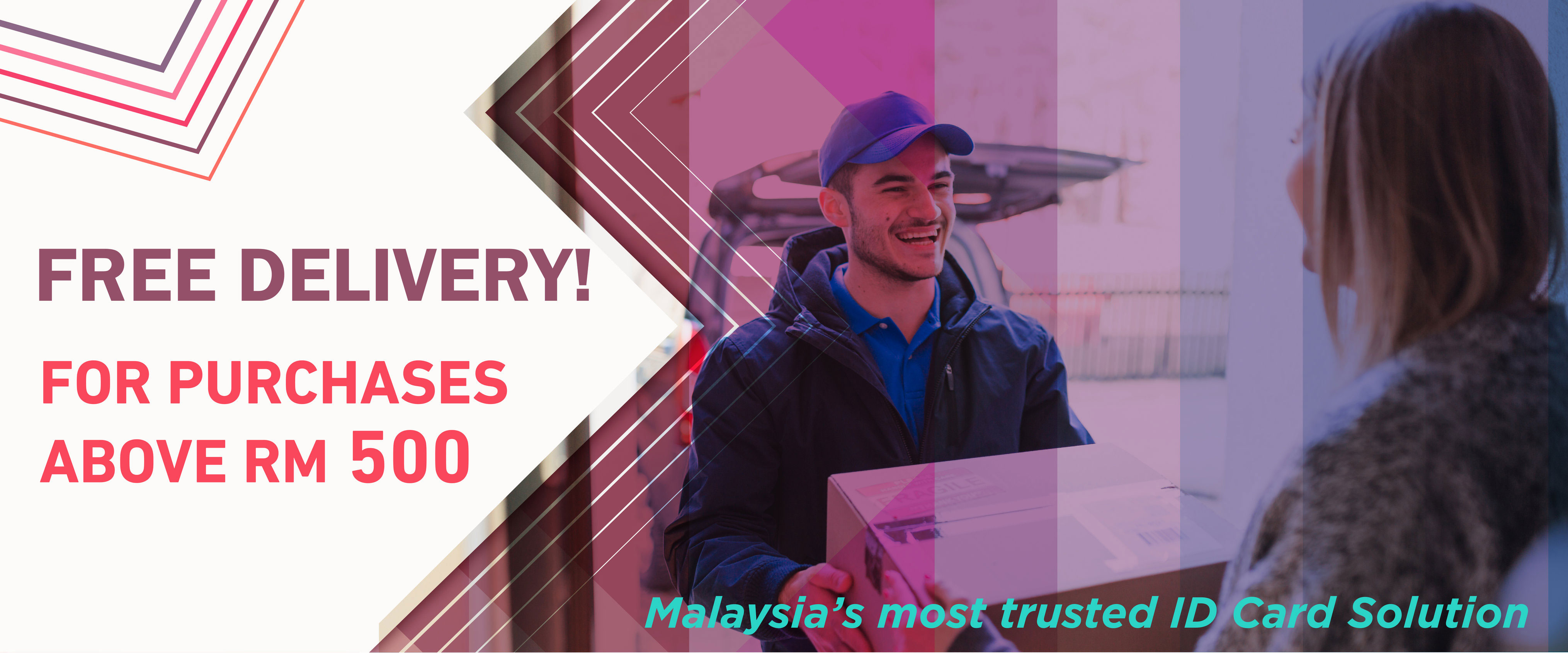Barcode Malaysia Free Delivery for purchases above RM500